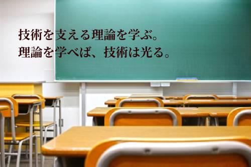 黒板のある教室風景